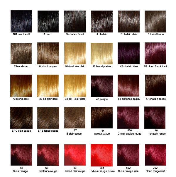 Couleur de cheveux 4 3