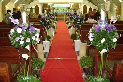 decoracao de igreja para casamento