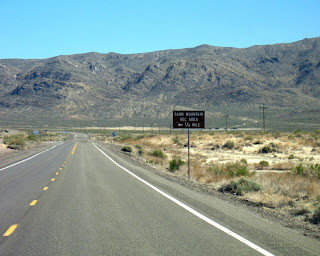Sand Mountain turnoff