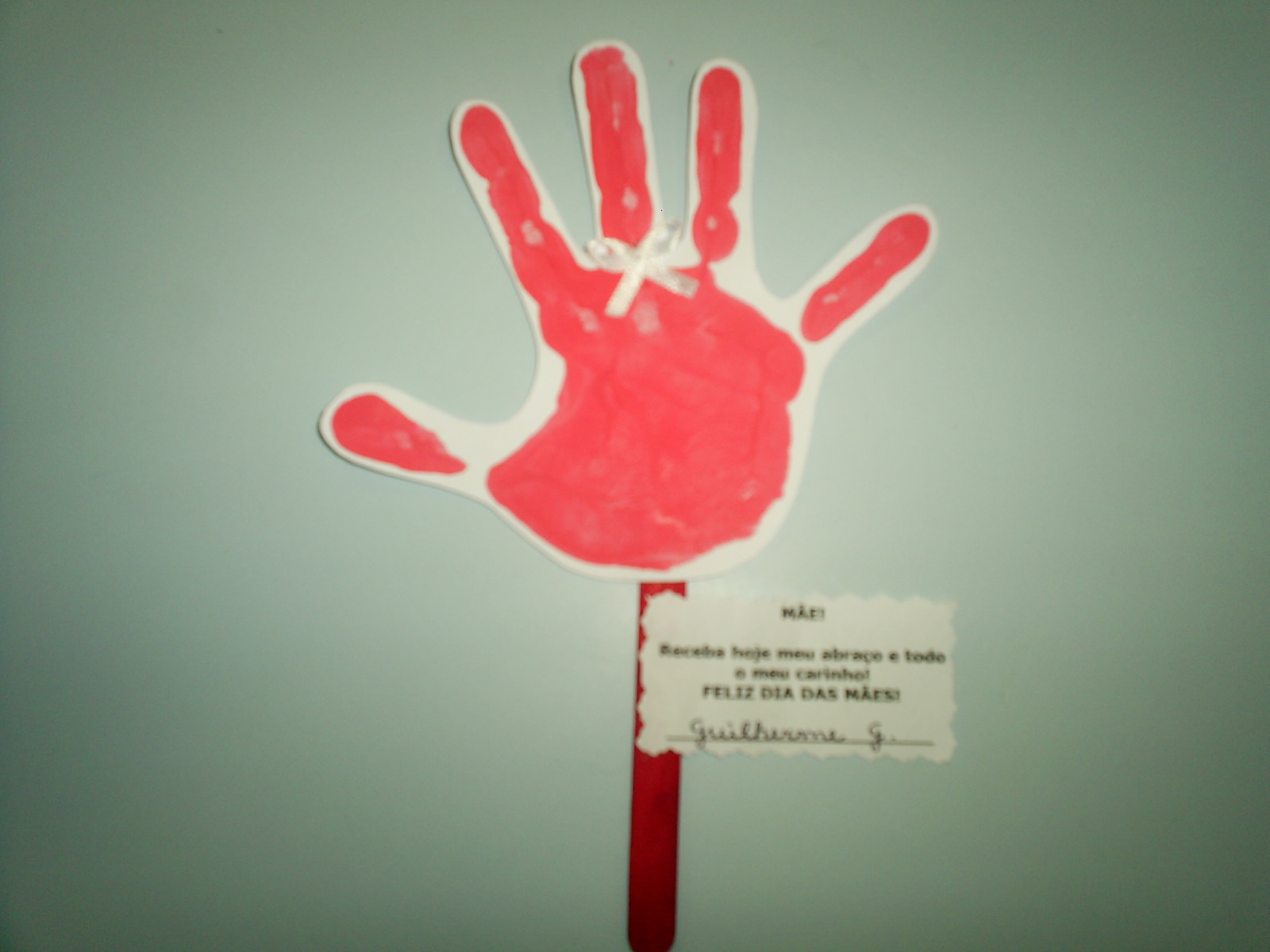 Amor Na Educação Infantil Cartão Dia Das Mães