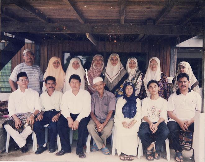 Keluarga Hj Saidin dan Hajjah Masrah