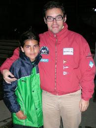 Con una campeona de España