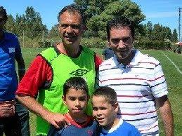 """Con Joaquín Caparrós y dos """"personajes"""""""