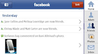 Facebook for nokia 5233 Application