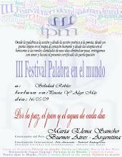 III Festival Palabra En El Mundo- Gracias MiL Marialena
