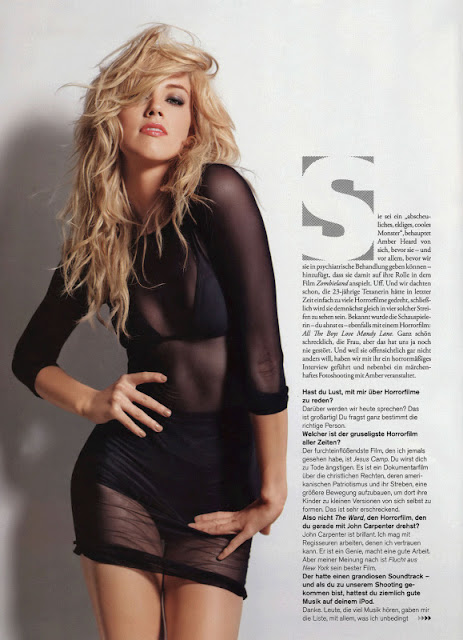 Amber Heard Sizzles in FHM 2