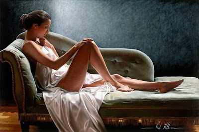 Sexy and sensuous oilpaintaings by Rob5