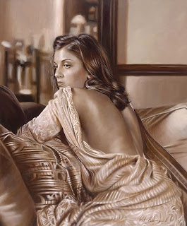 Sexy and sensuous oilpaintaings by Rob9