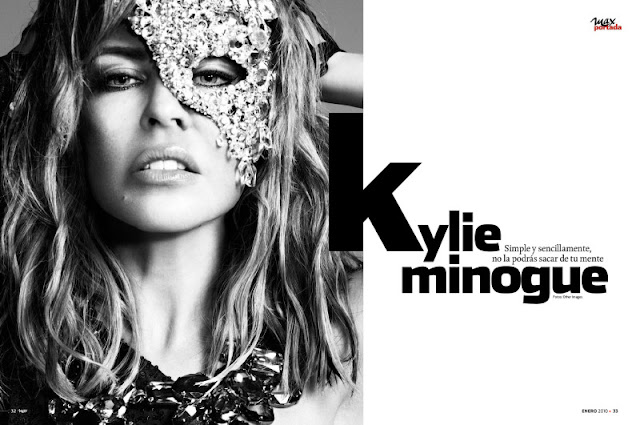Kylie Minogue Sizzles in Max Magz3