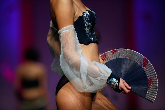 china lingerie fashion week models