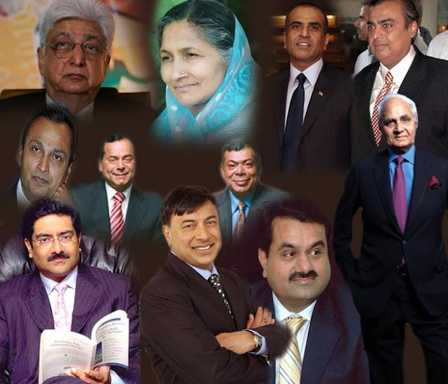 indias top billionaire club