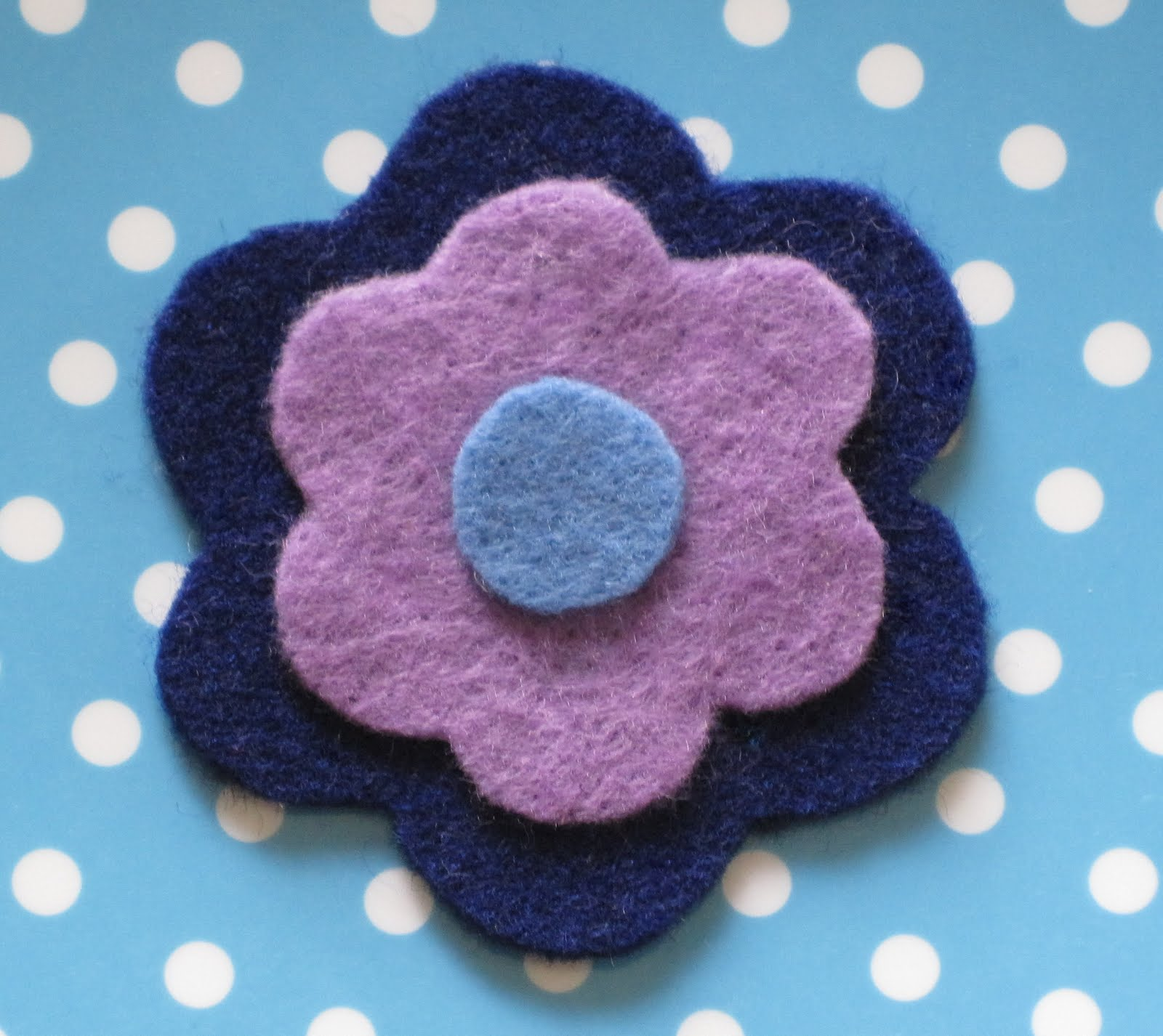It s Always Something Fun with Felt Felt Flower Notebook Cover