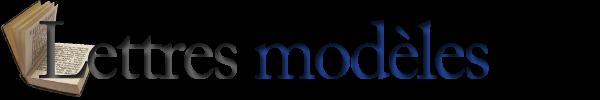 Lettres modeles, lettres juridiques, modèles contrat