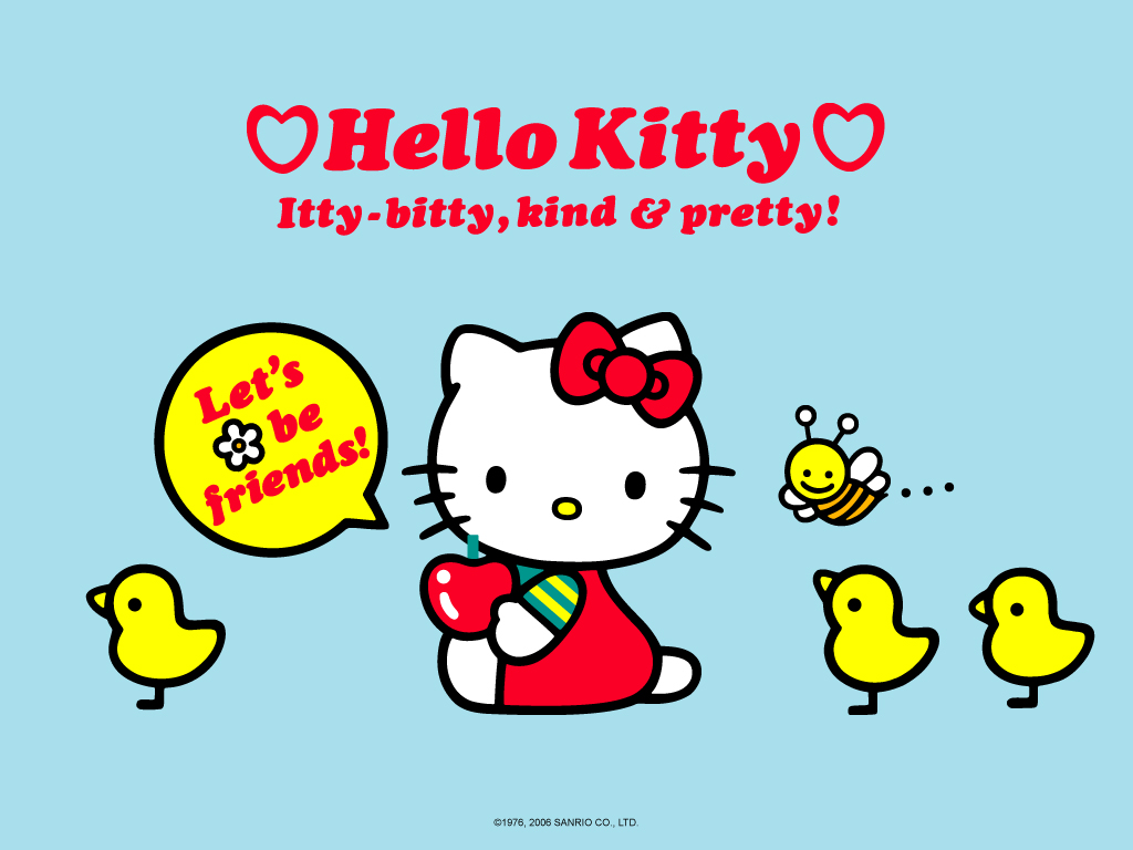 Good Wallpaper Hello Kitty Friend - hk+little+birds  You Should Have_193720.jpg