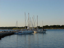 Sailboats moored at Novigrad/Cittanova