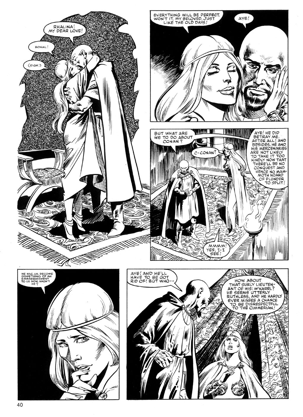 The Savage Sword Of Conan Issue #91 #92 - English 39