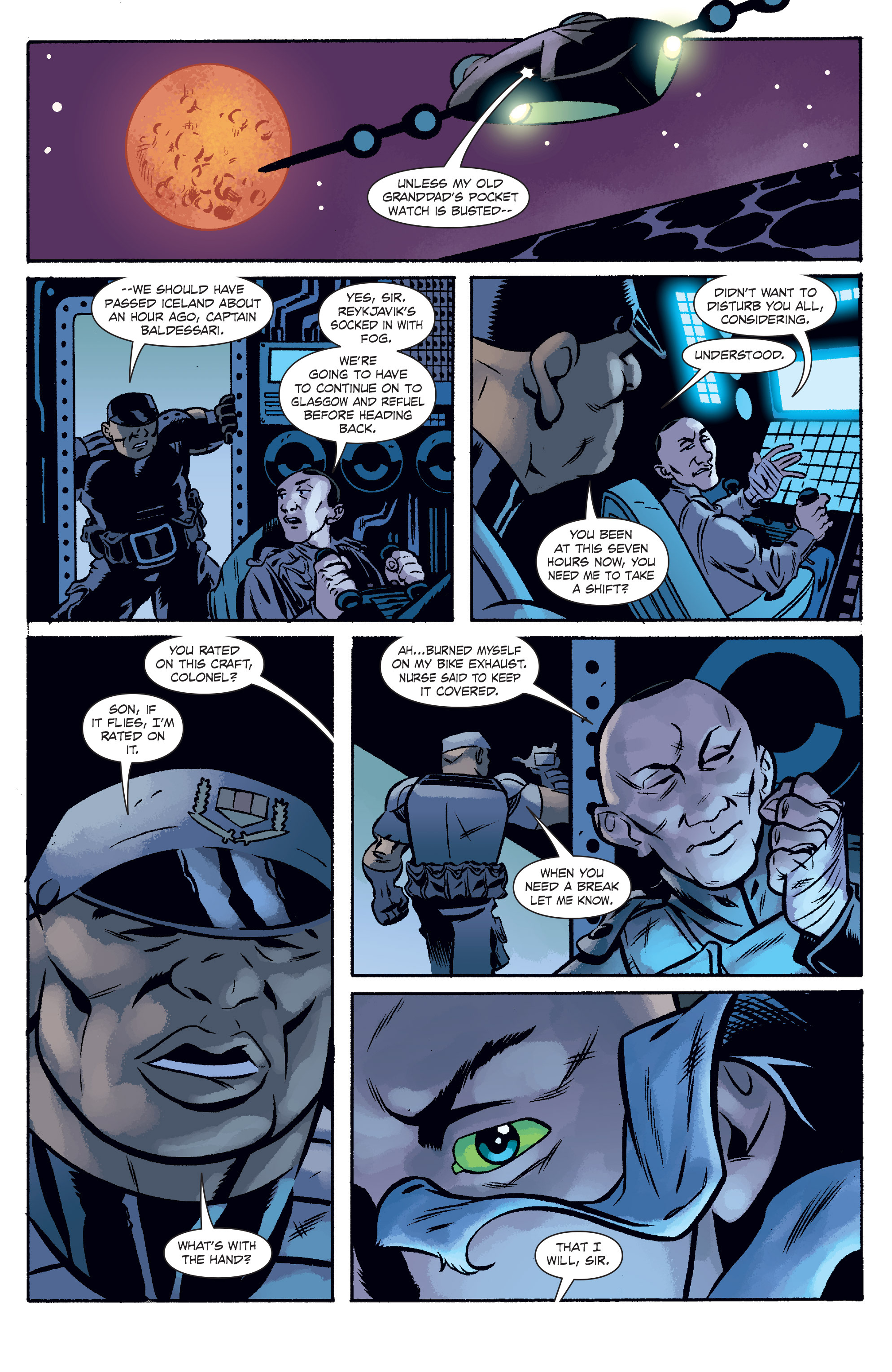 Read online The Anchor comic -  Issue # TPB 2 - 55