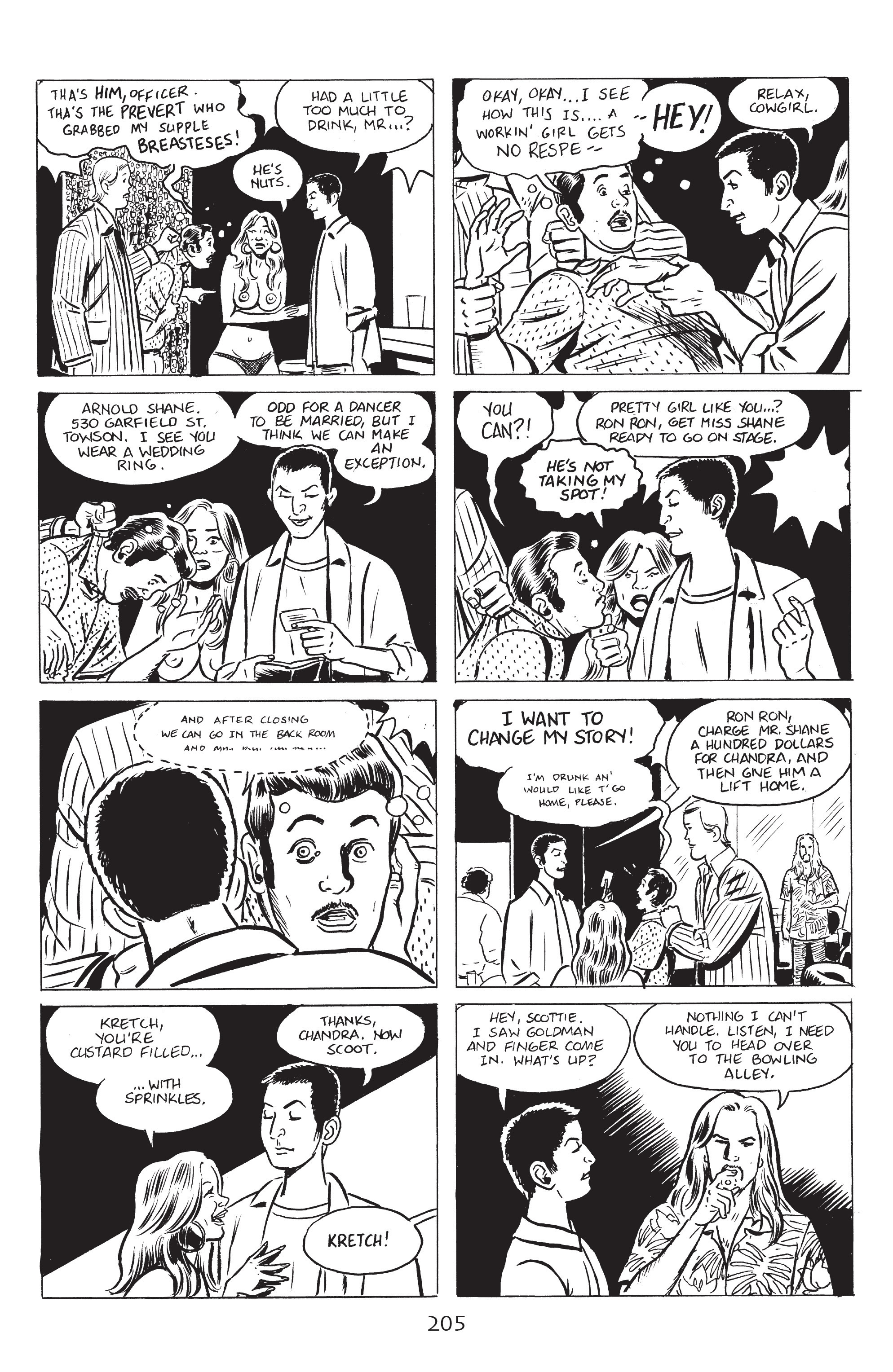 Read online Stray Bullets: Sunshine & Roses comic -  Issue #8 - 11