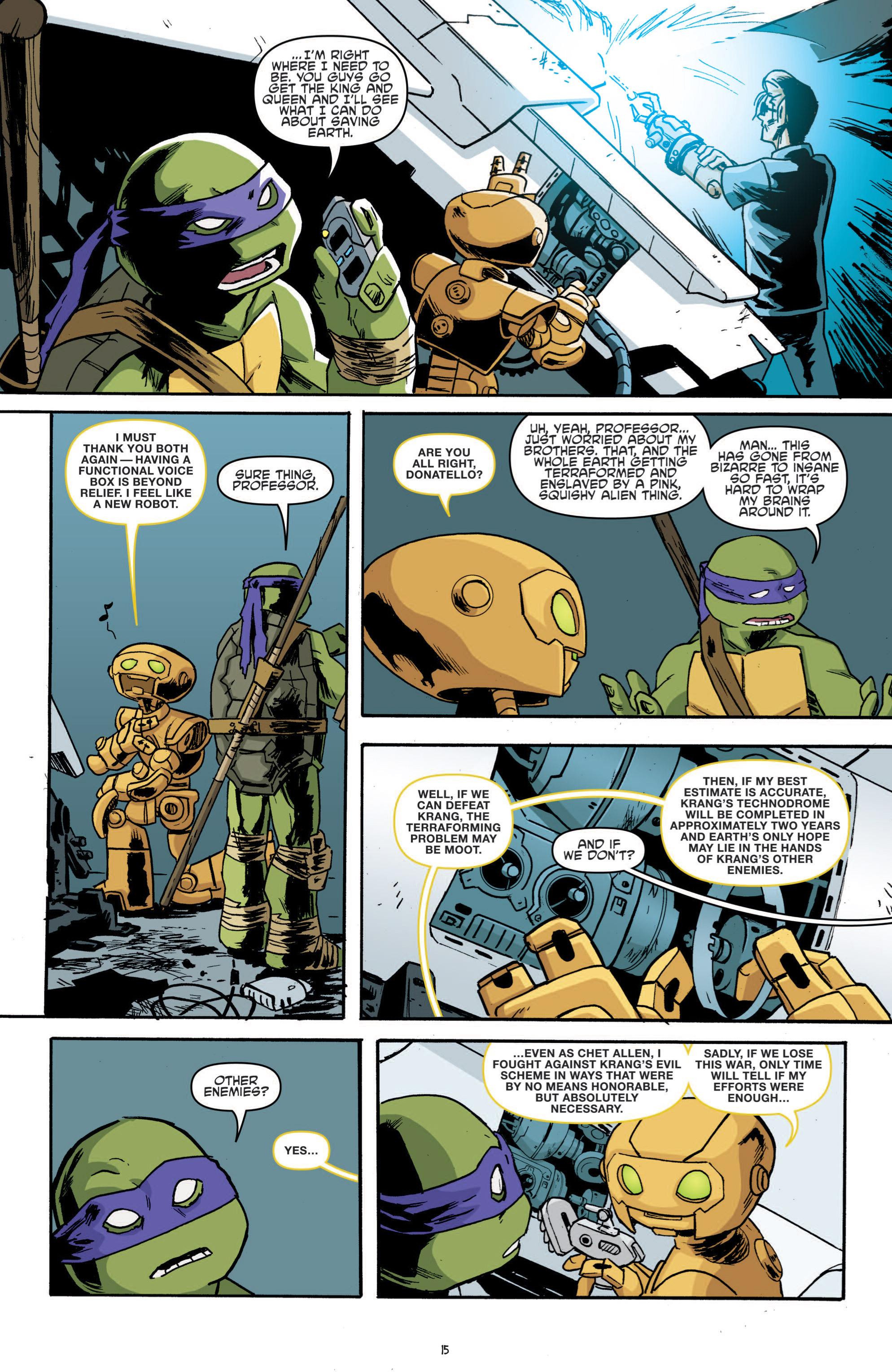 Read online Teenage Mutant Ninja Turtles (2011) comic -  Issue #19 - 19