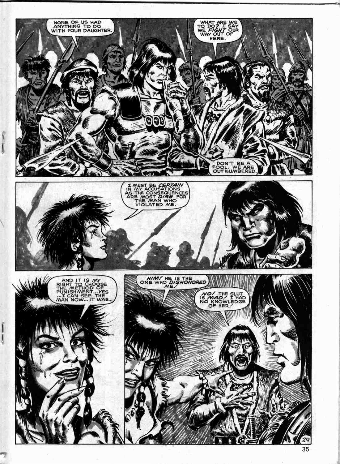 The Savage Sword Of Conan Issue #133 #134 - English 34