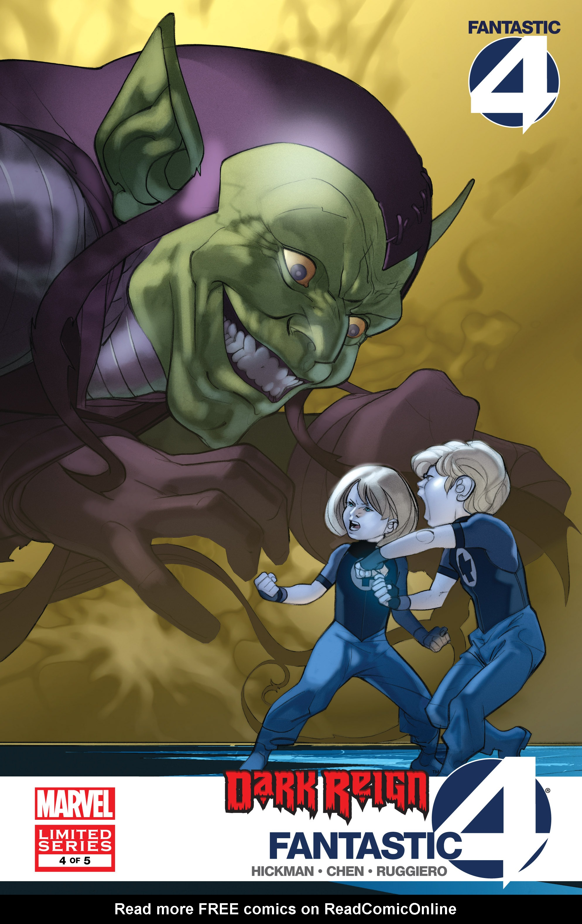 Dark Reign: Fantastic Four issue 4 - Page 1