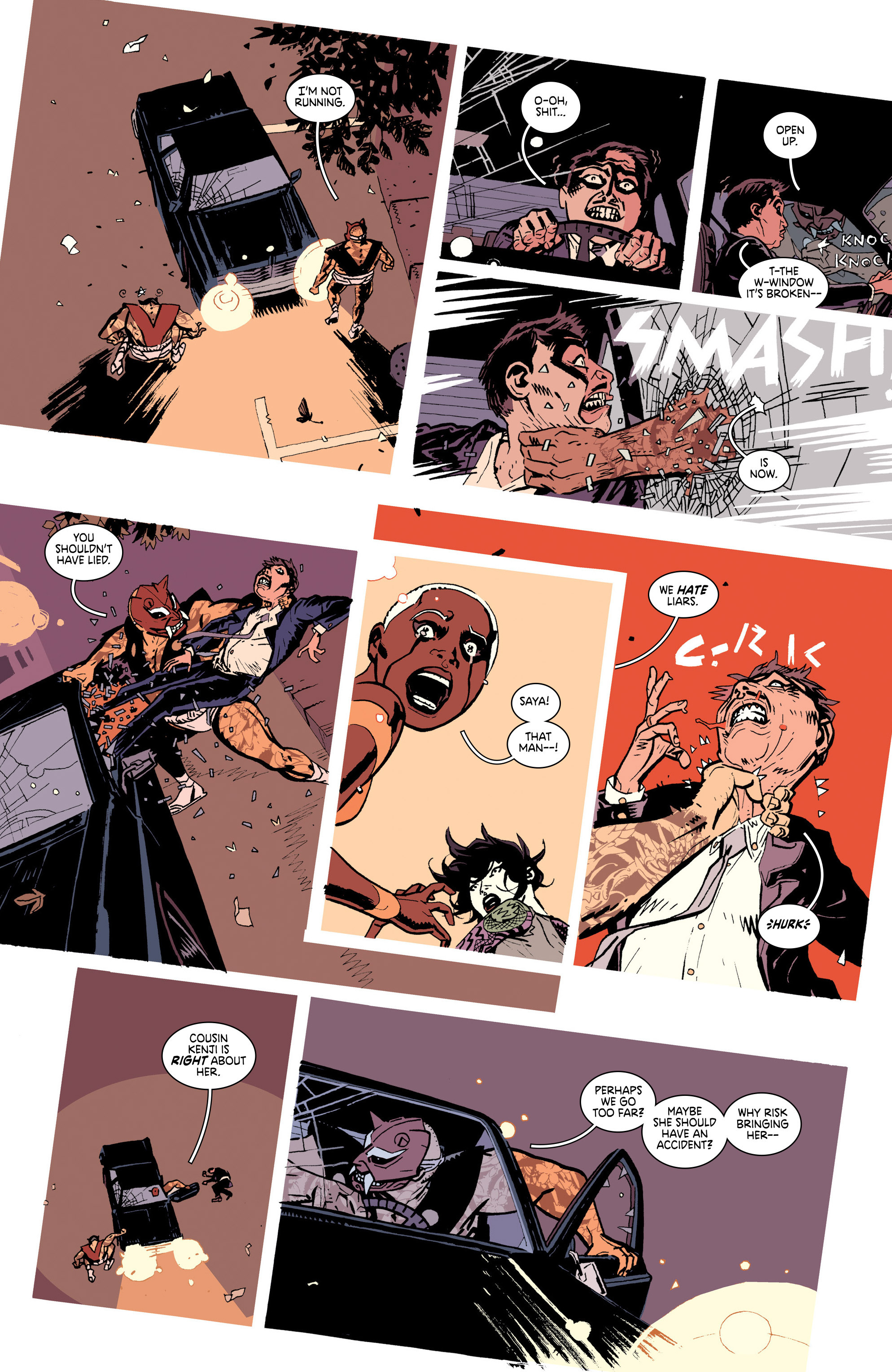 Read online Deadly Class comic -  Issue #25 - 15