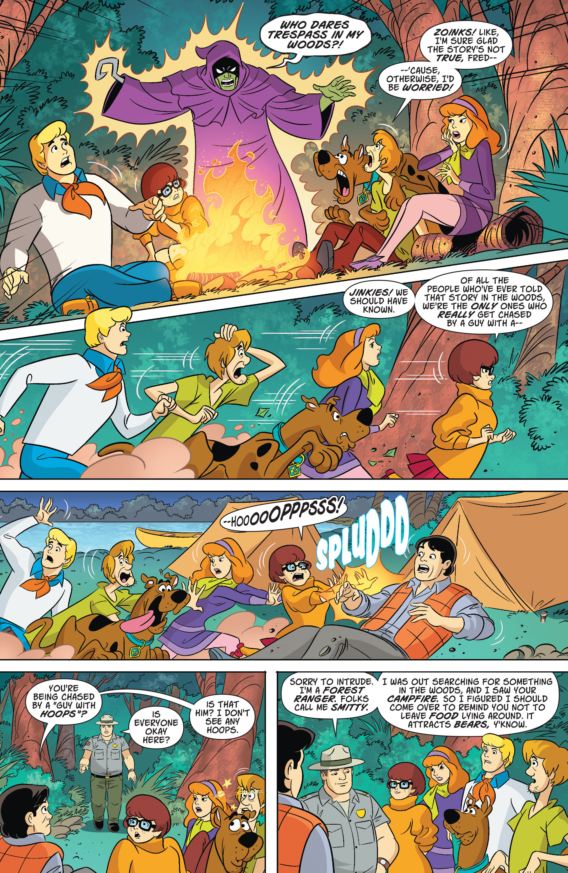Read online Scooby-Doo: Where Are You? comic -  Issue #67 - 4