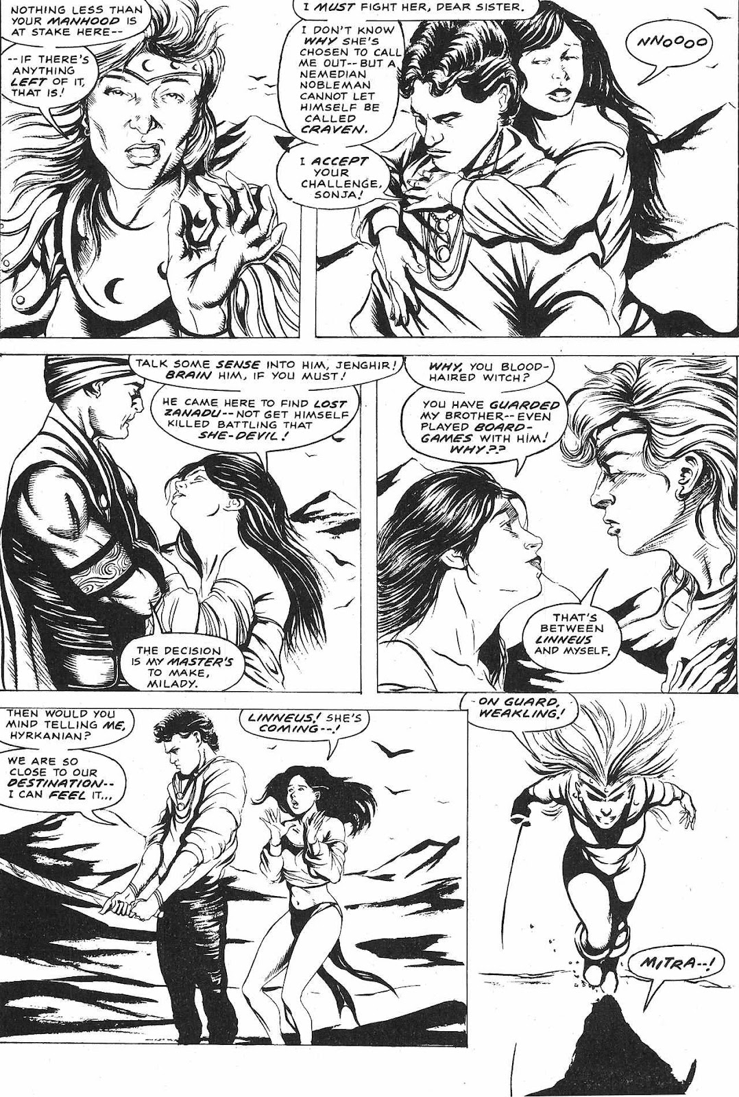 The Savage Sword Of Conan Issue #209 #210 - English 54