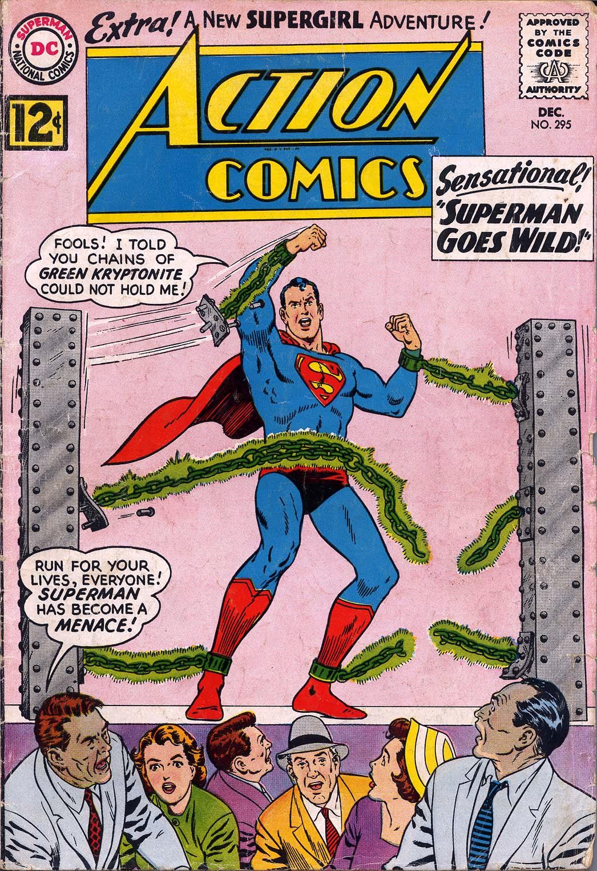 Action Comics (1938) 295 Page 1