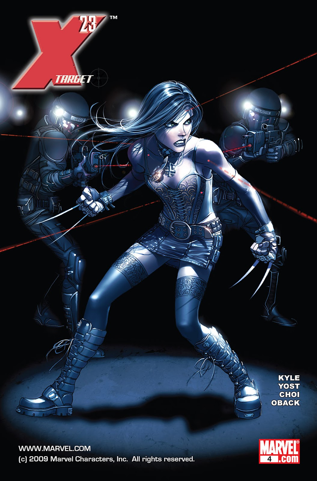 X-23: Target X Issue #4 #4 - English 1