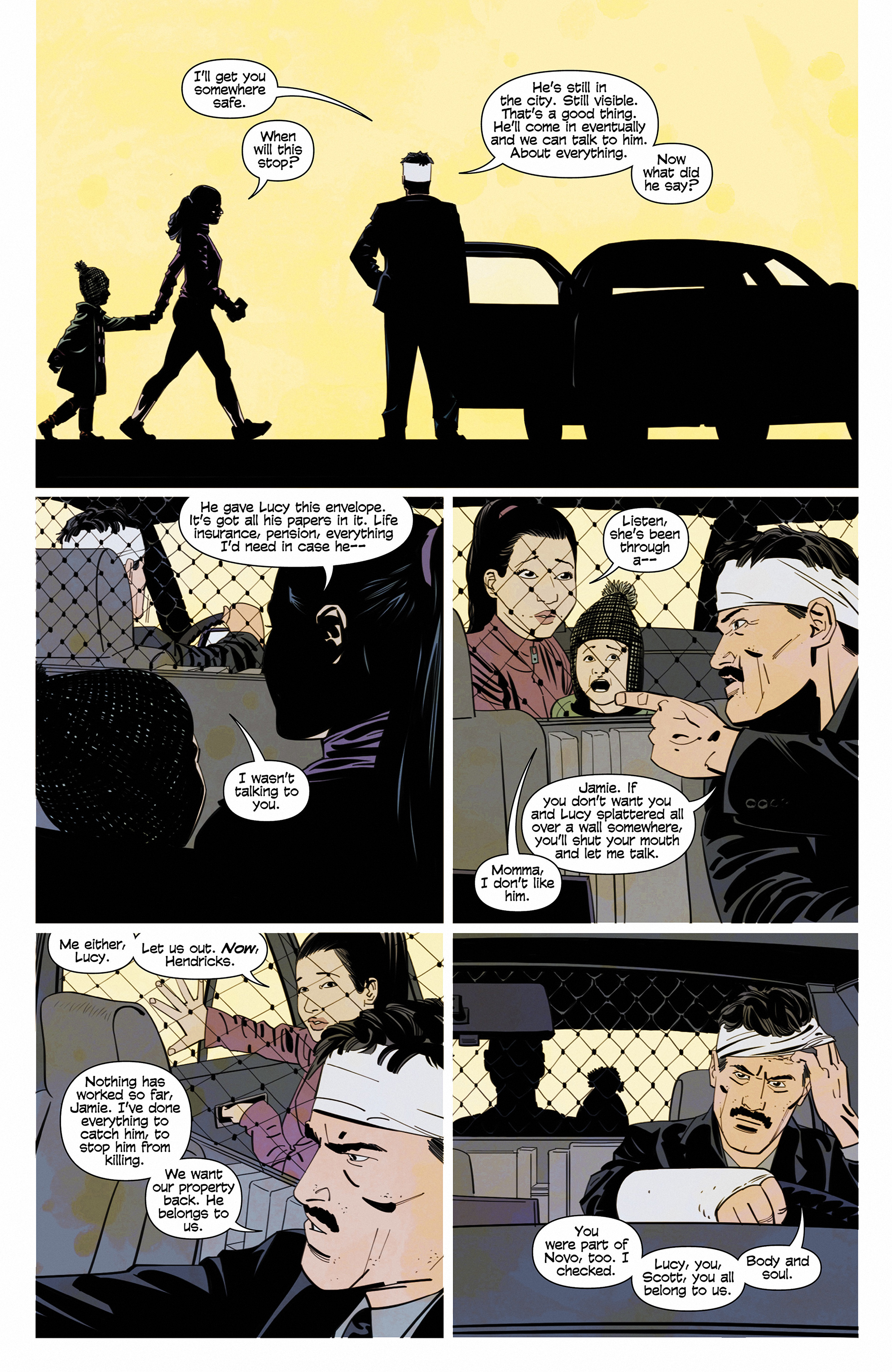 Read online Demonic comic -  Issue #6 - 8
