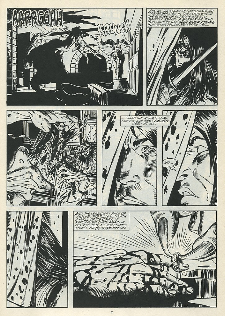 The Savage Sword Of Conan Issue #185 #186 - English 9