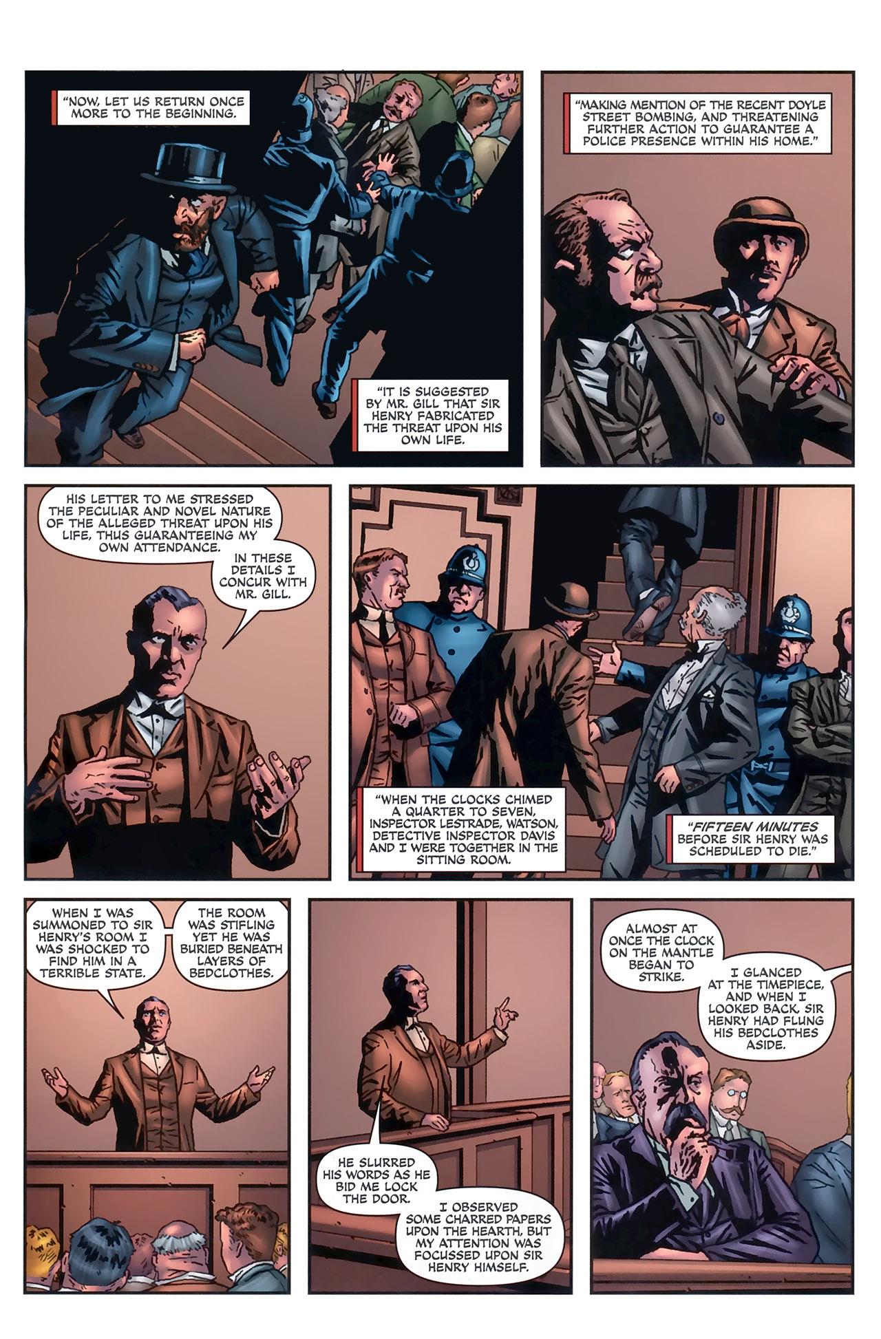 Read online Sherlock Holmes (2009) comic -  Issue #5 - 18