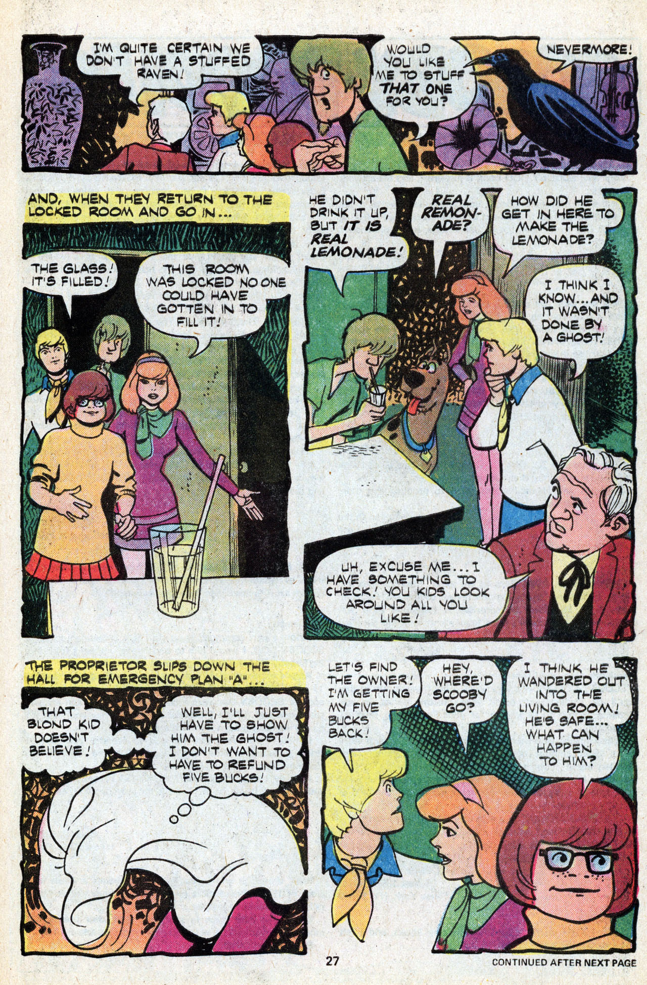 Read online Scooby-Doo (1977) comic -  Issue #5 - 29