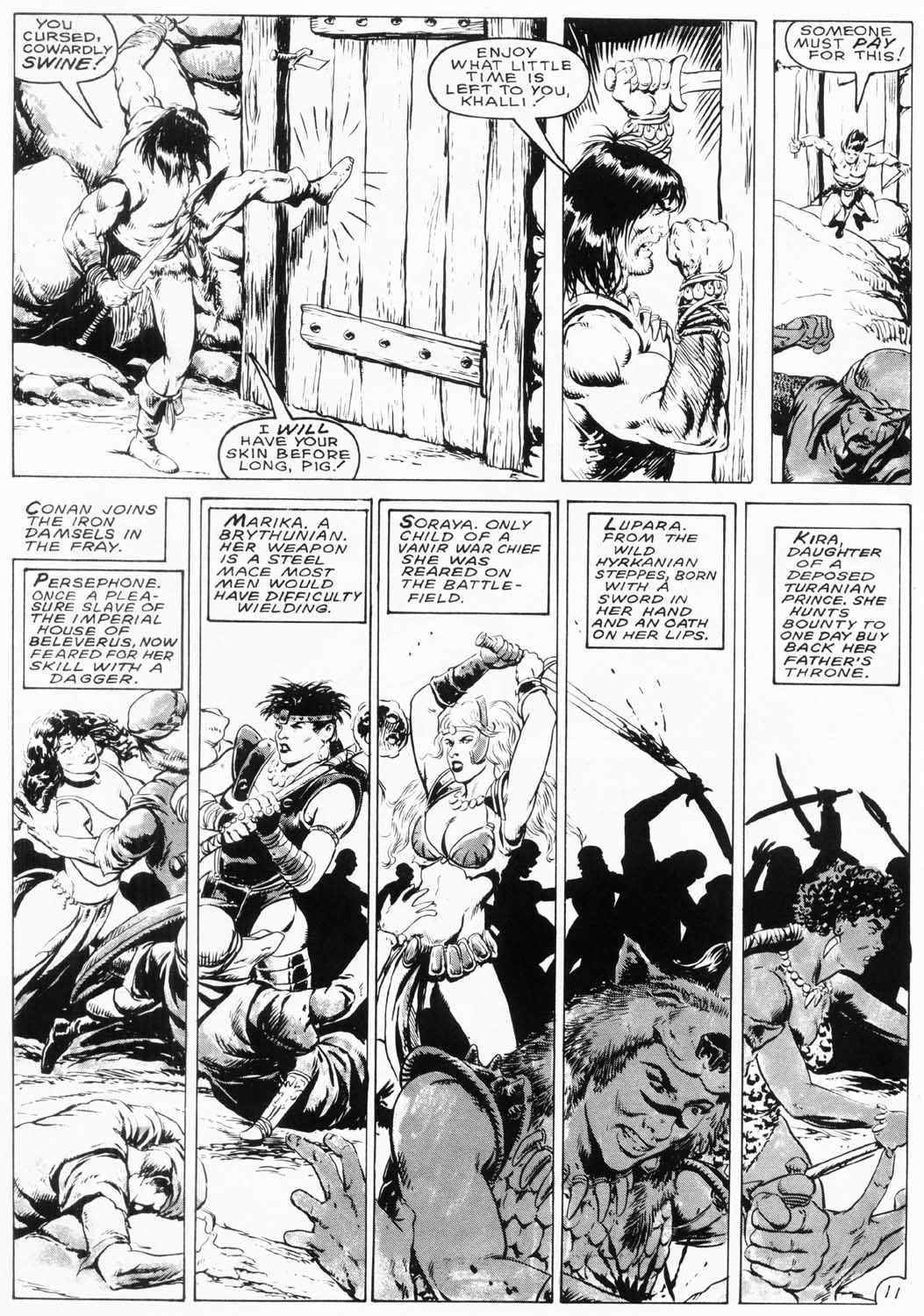 The Savage Sword Of Conan Issue #154 #155 - English 14