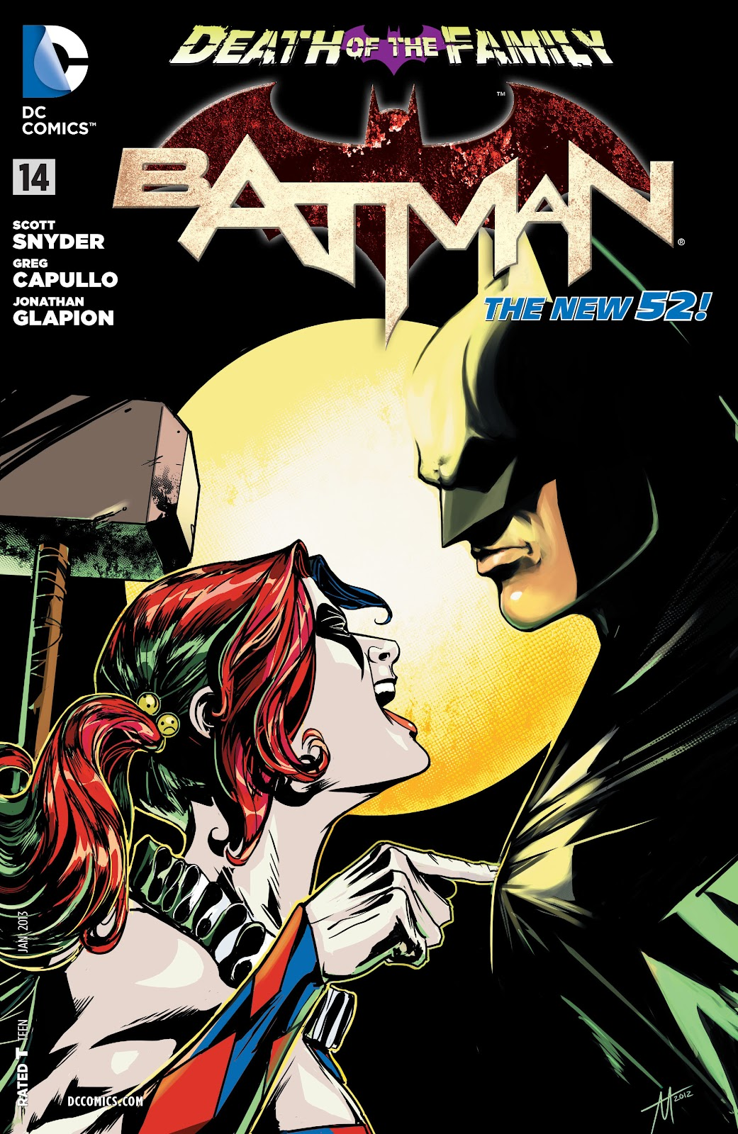 Batman (2011) Issue #14 #29 - English 29