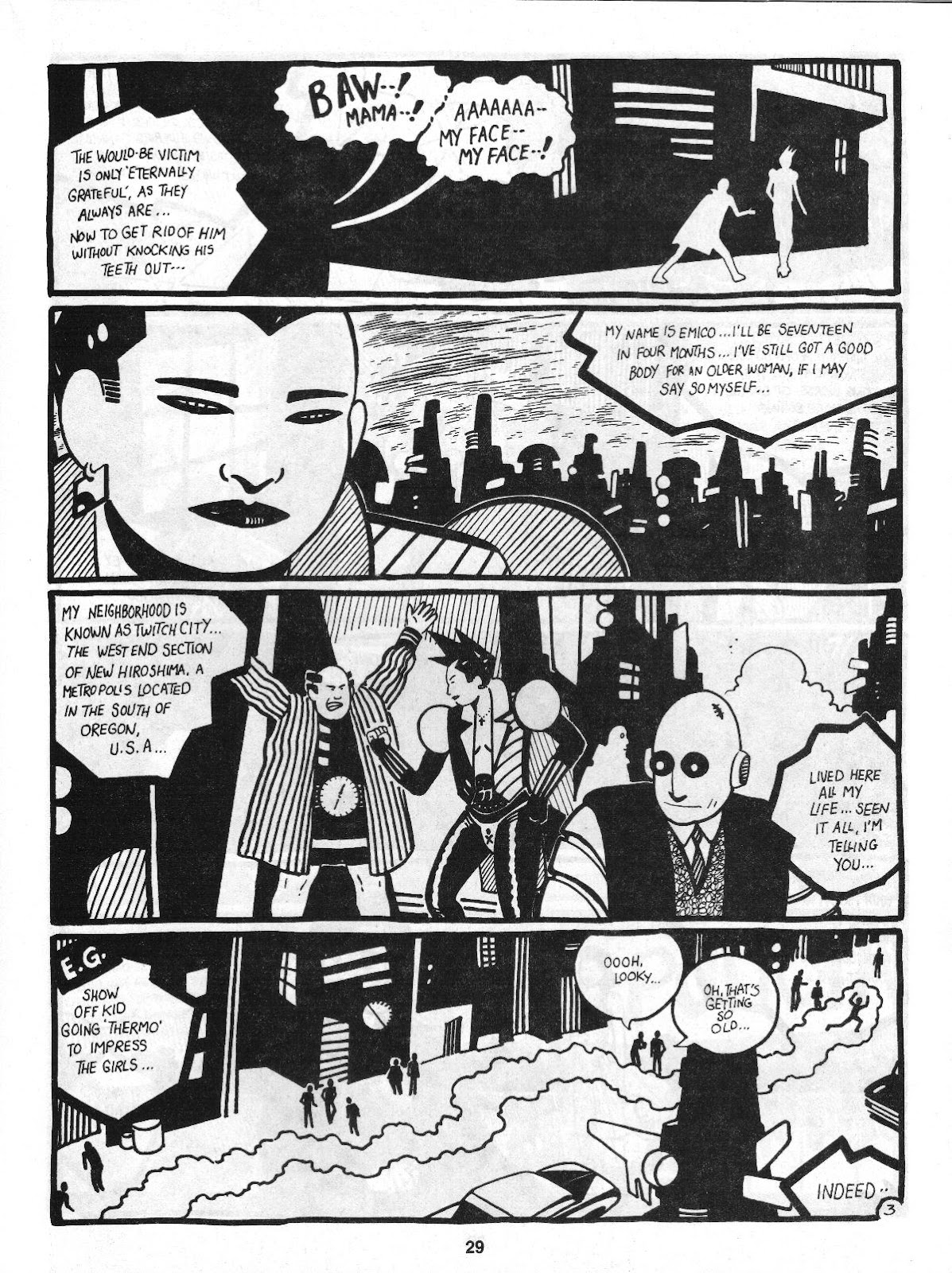 Love and Rockets (1982) Issue #4 #3 - English 31