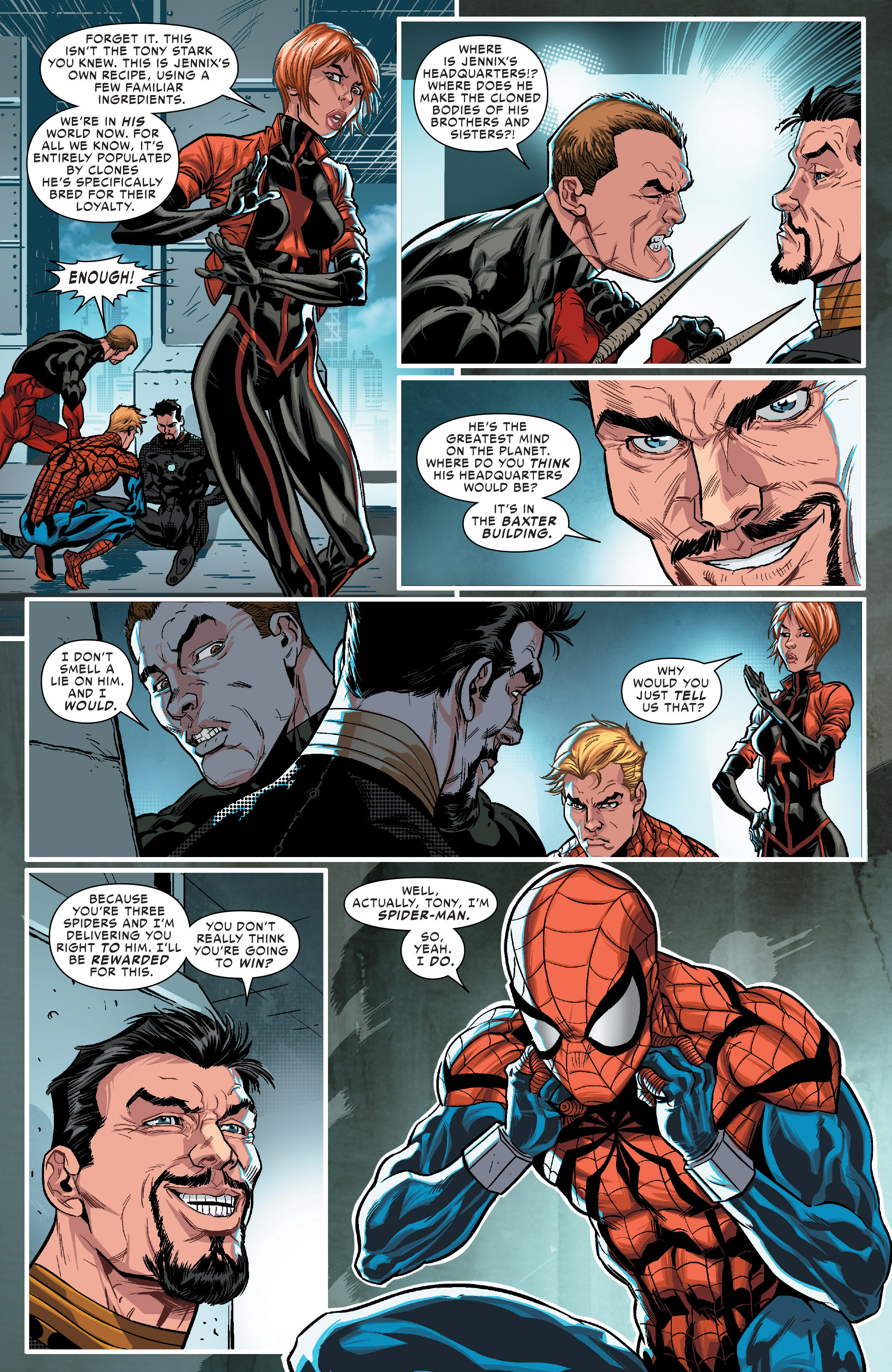 Read online Scarlet Spiders comic -  Issue #1 - 15