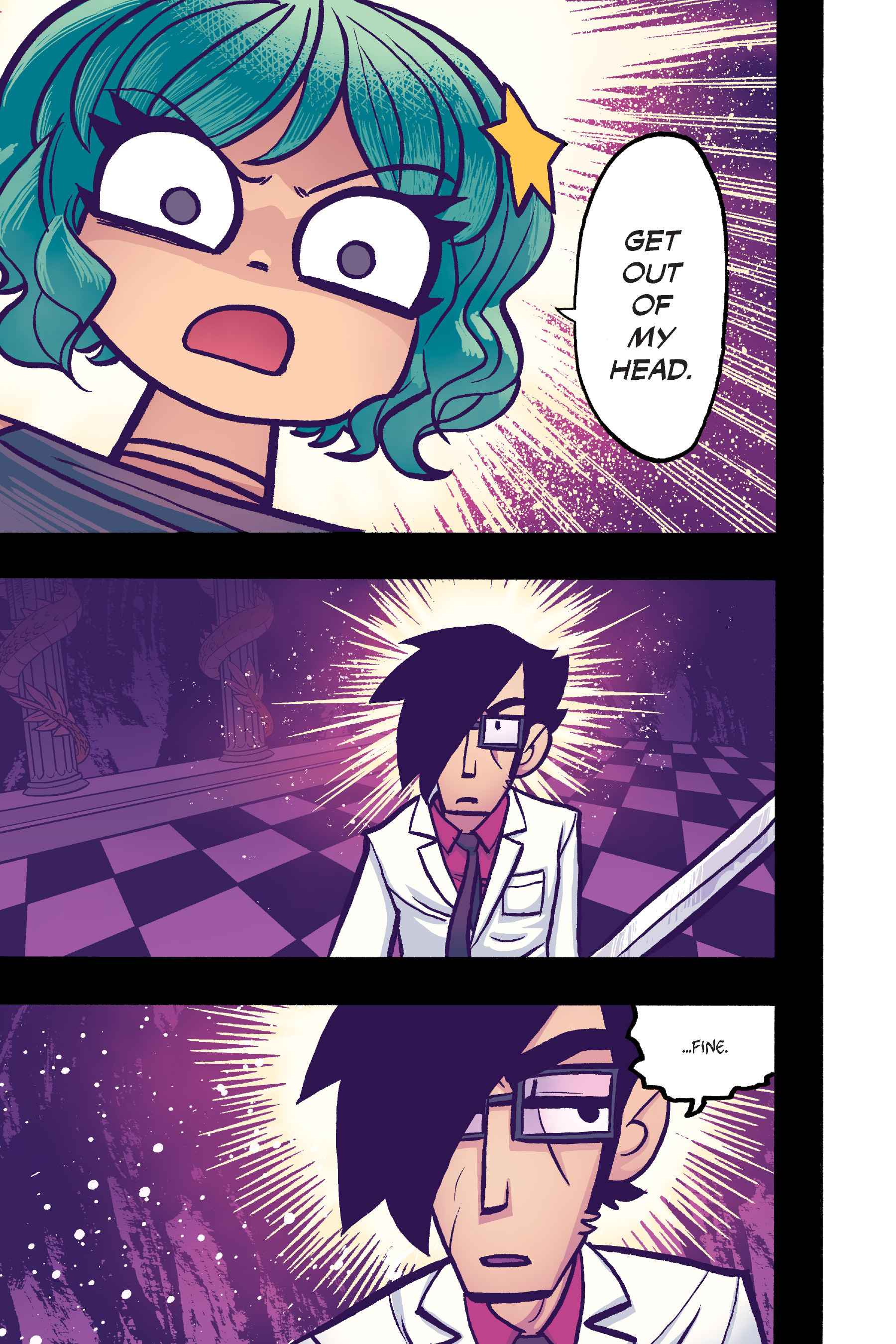 Read online Scott Pilgrim comic -  Issue #6 - 182