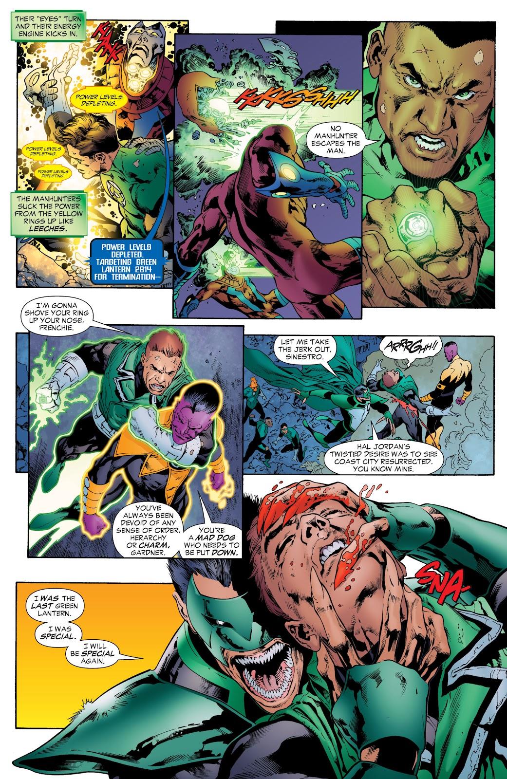 Green Lantern: The Sinestro Corps War Full #1 - English 150