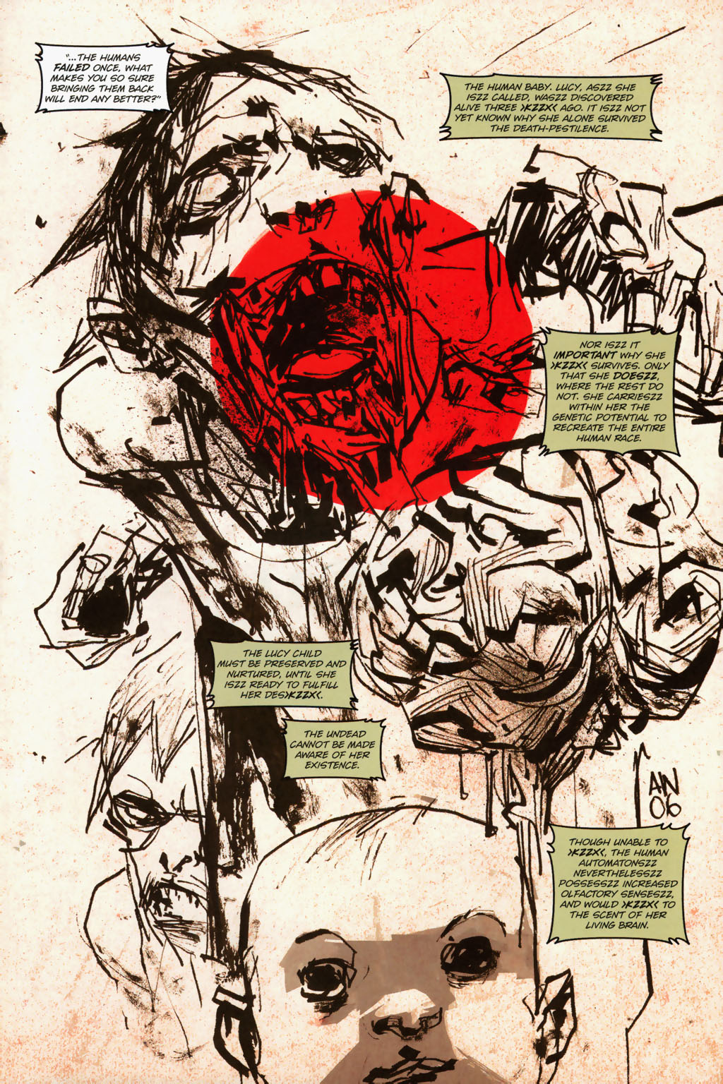 Zombies vs. Robots (2006) Issue #1 Page 15