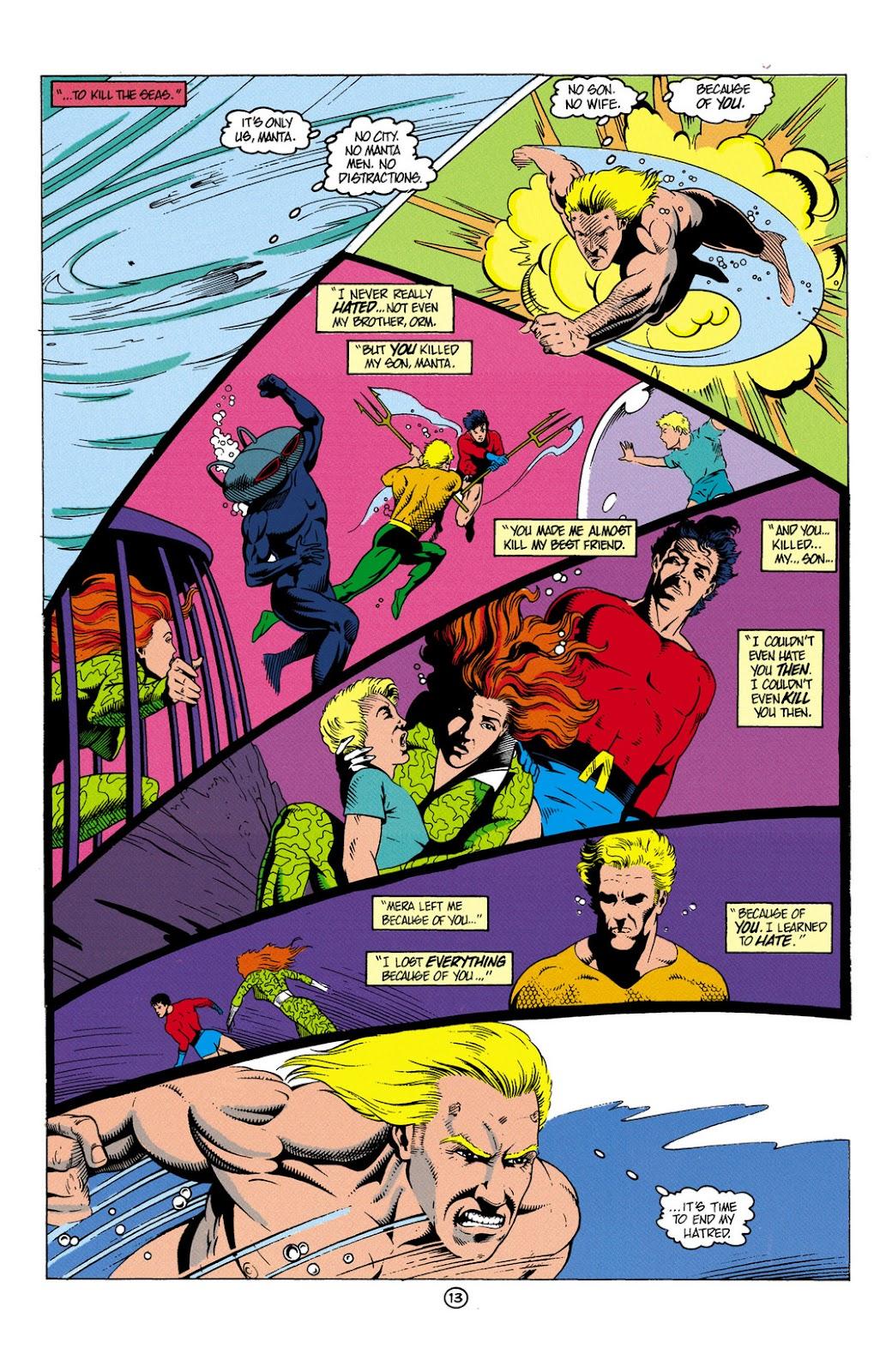 Aquaman (1991) Issue #6 #6 - English 14