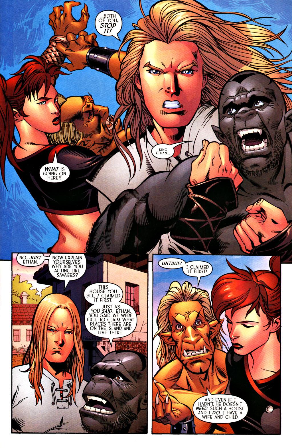 Read online Scion comic -  Issue #28 - 9