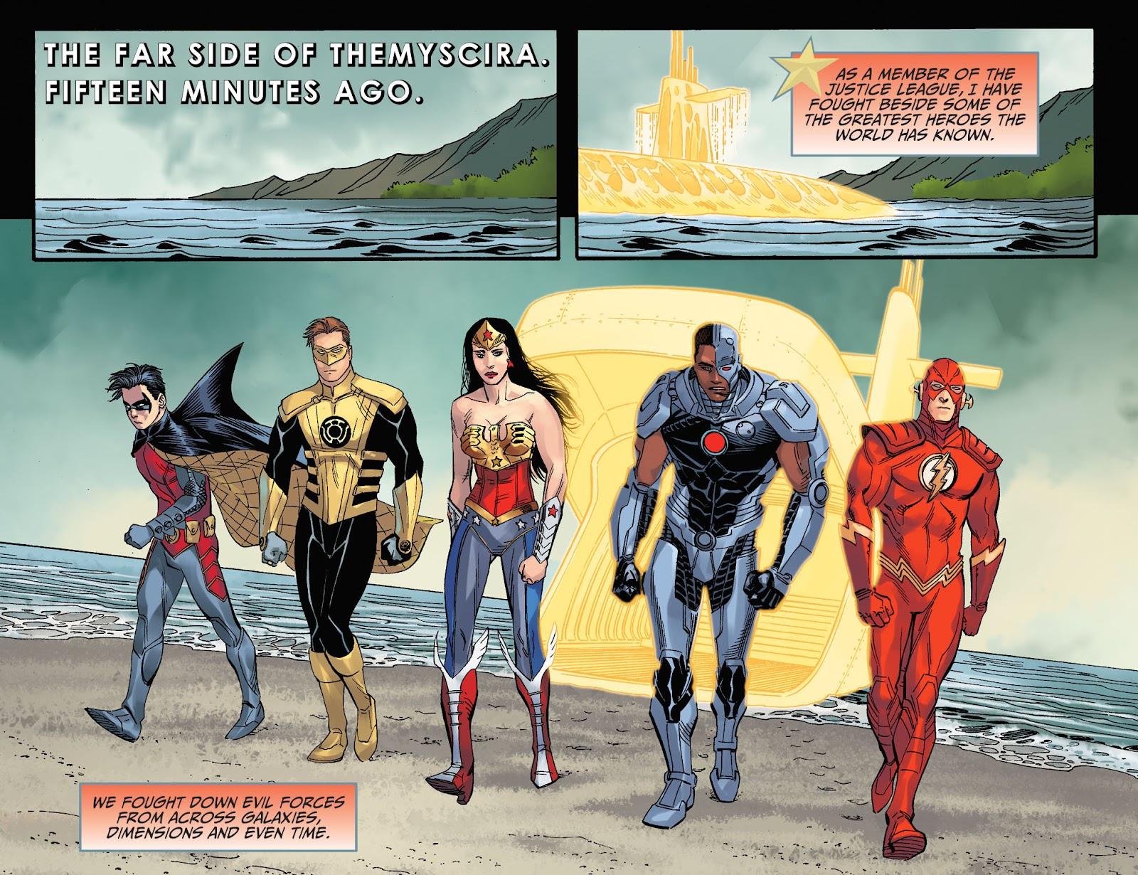 Injustice: Gods Among Us Year Four Issue #23 #24 - English 4