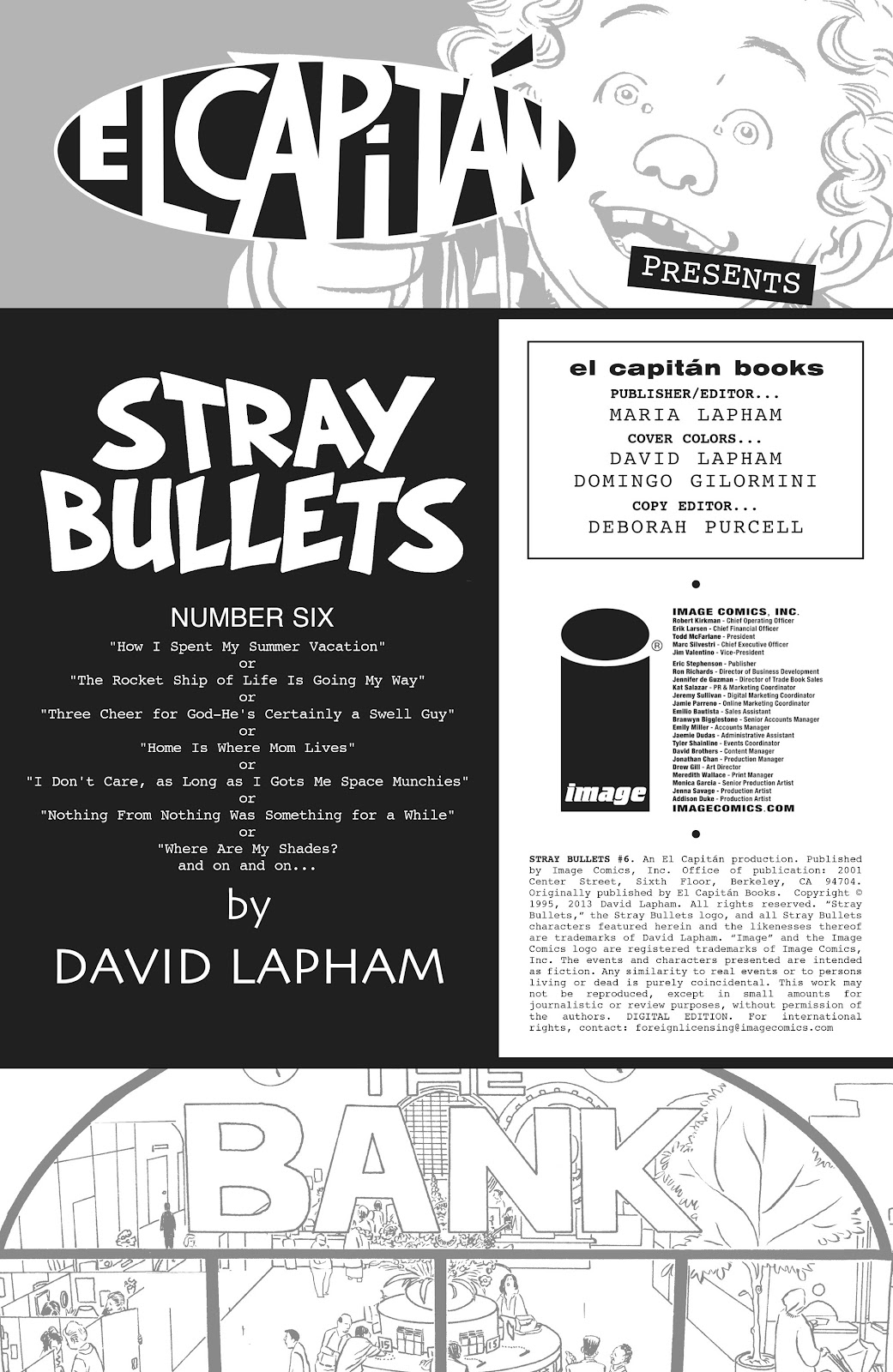 Stray Bullets Issue #6 #6 - English 2