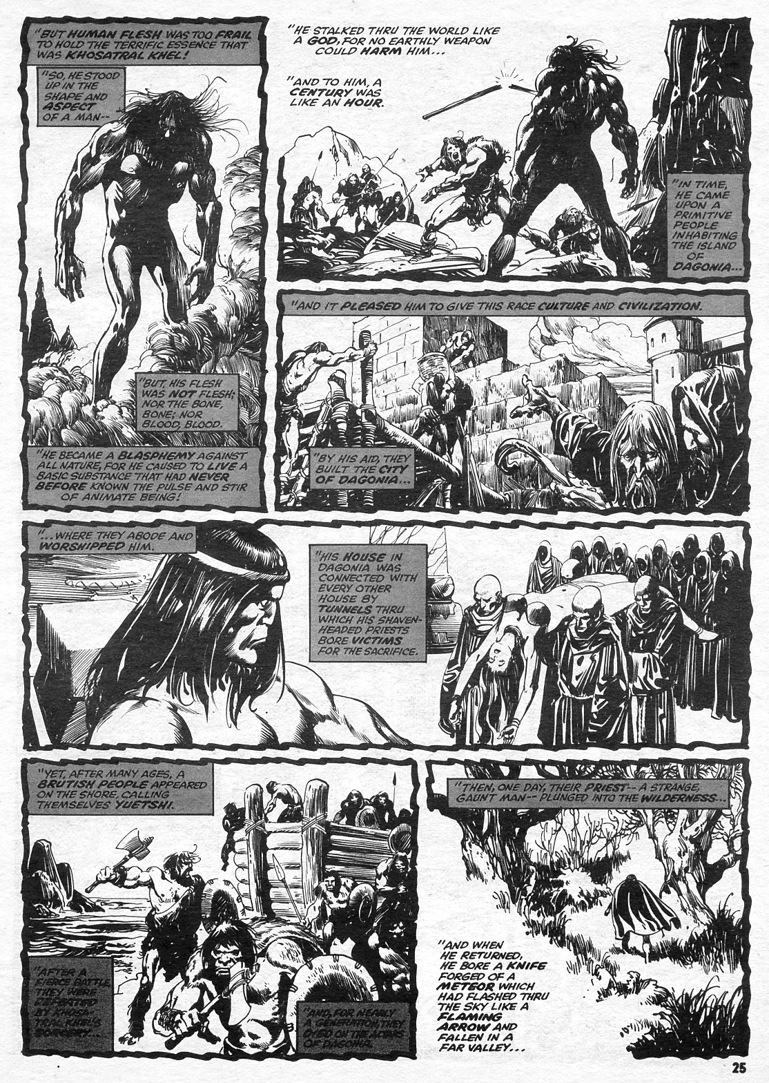 The Savage Sword Of Conan Issue #15 #16 - English 25