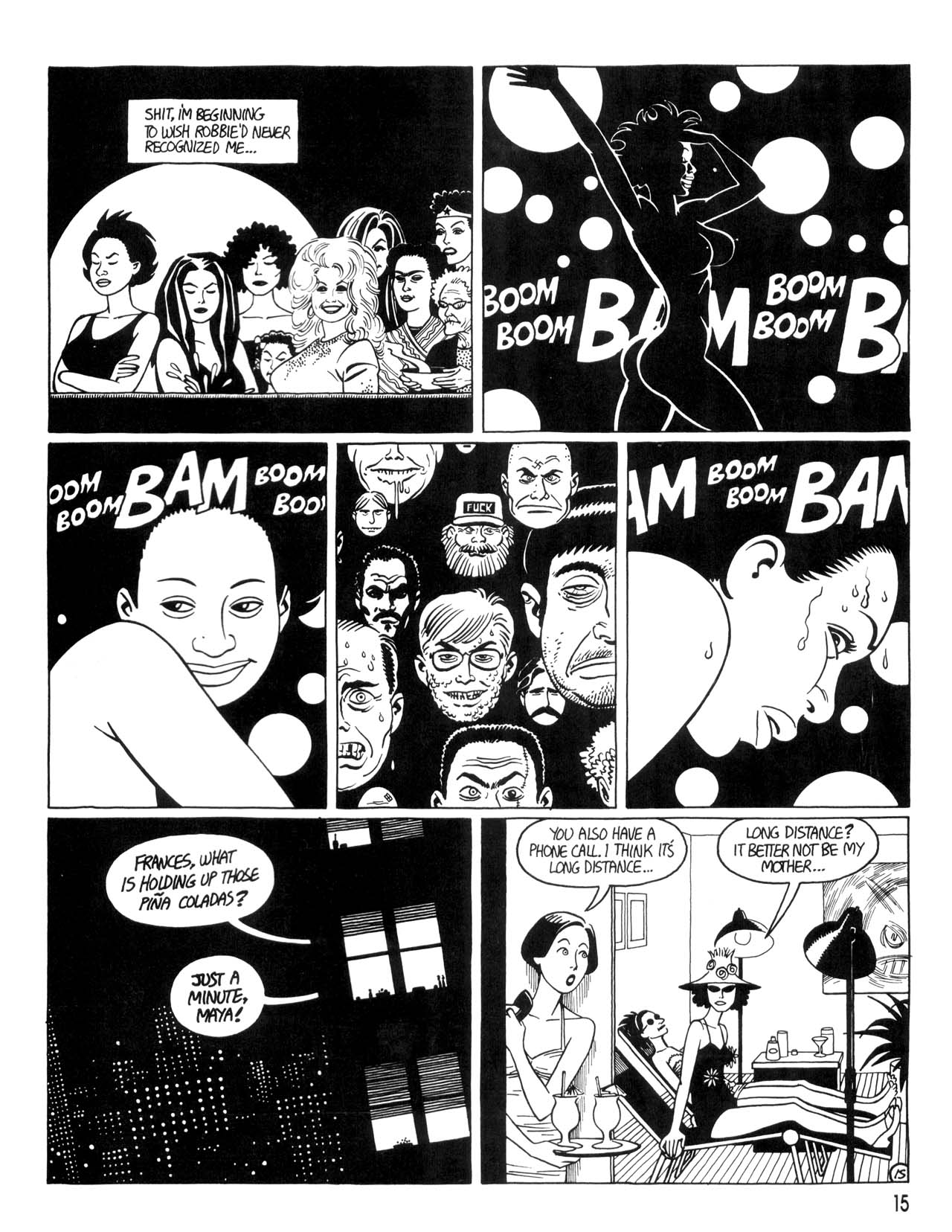 Love and Rockets (1982) #35 #35 - English 17