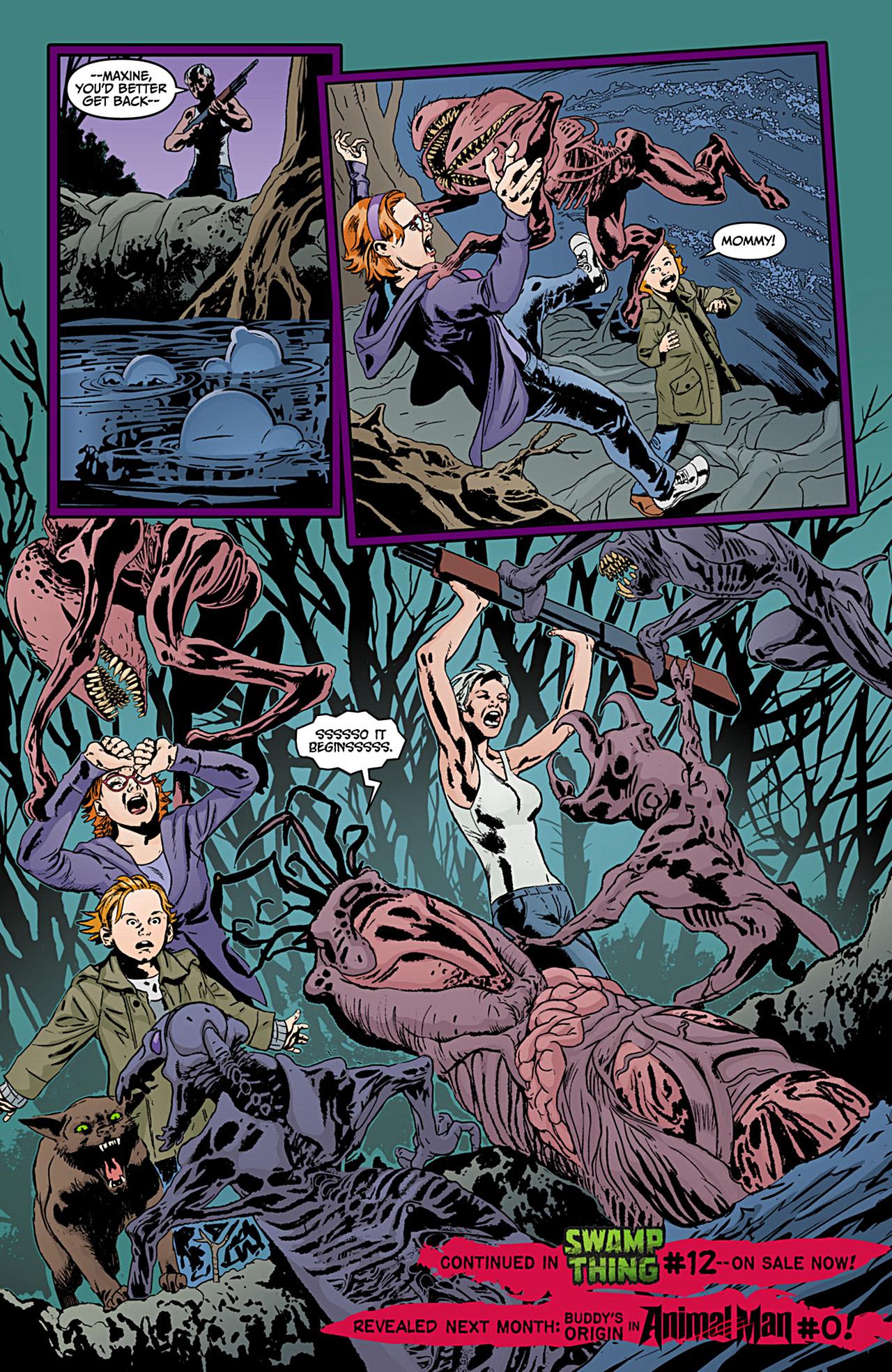 Read online Animal Man (2011) comic -  Issue #12 - 21