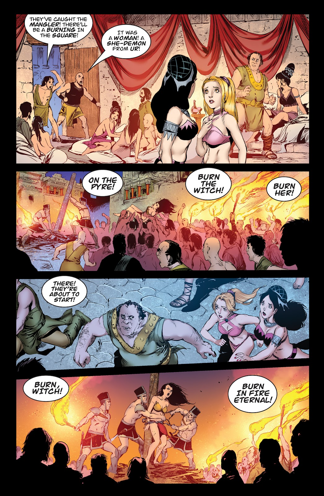 Queen of Vampires Issue #7 #7 - English 31