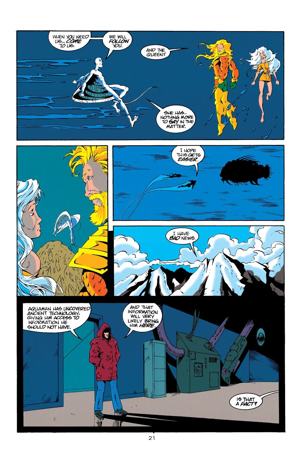 Aquaman (1994) Issue #18 #24 - English 21